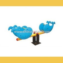 China Supplier New Product Playground Equipment Mini Seesaw