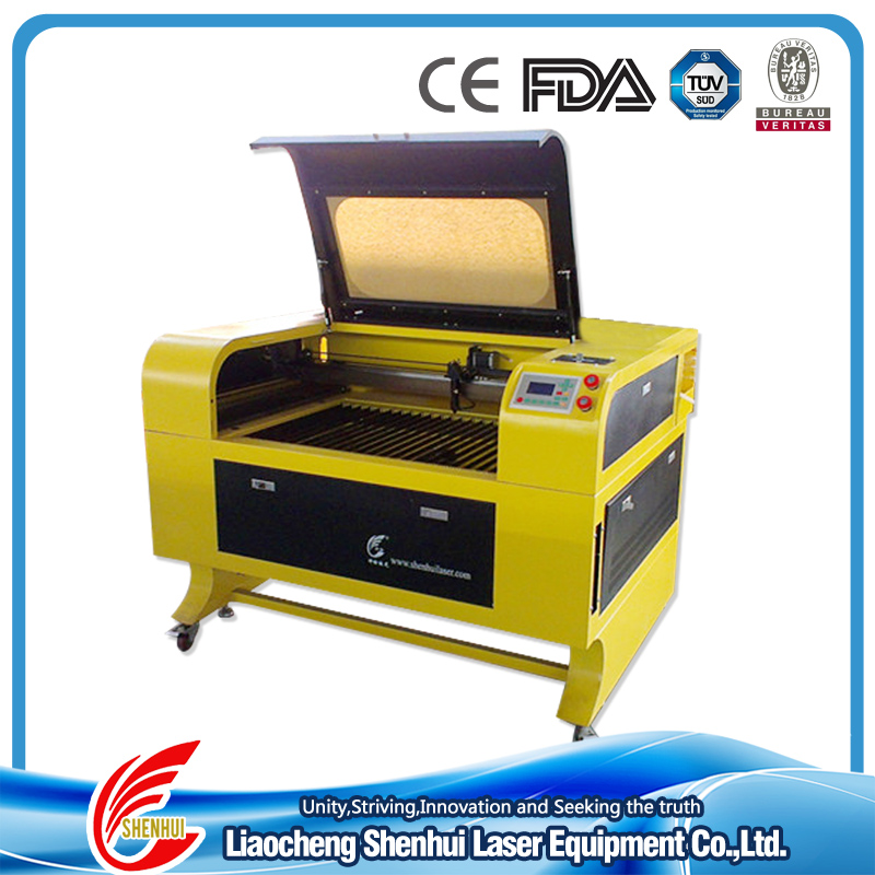 100W RECI CO2 Glass Laser Engraving Machine for cutting and engraving