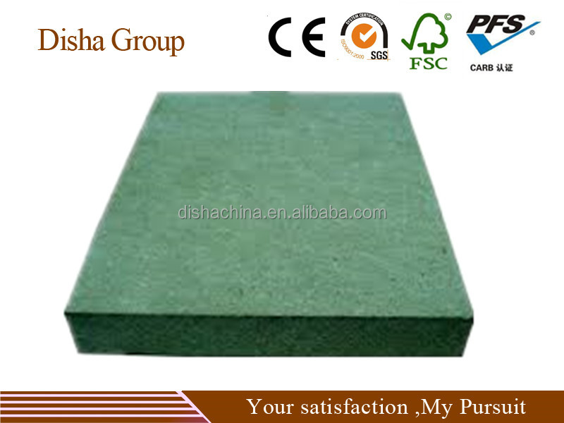 High Moisture Resistant MDF with paraffin E1 Standard