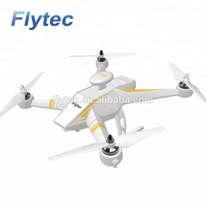 Flytec Navi T23 Brushless Double GPS 1080P HD Camera Drone 5.8G FPV Drone Follow Me Drone Fixed Point Circling Quadcopter RTF