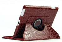 factory direct sale PU synthetic leather 360 degree rotation kid shock proof case for ipad