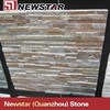 Rusty with gray natural wall decoration quartzite stone