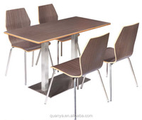 Dining room furniture/Dining table and chairs set for fast food /KFC
