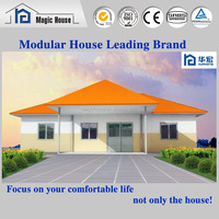 New creative design foam cement panel prefabricated luxury light steel houses villa with low price for sale