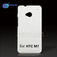 Bulk For HTC ONE M7 Mobile Phone Blank 3d DIY Printing Sublimation Phone Case