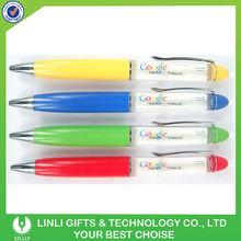 plastic customized floater design pen for promotional