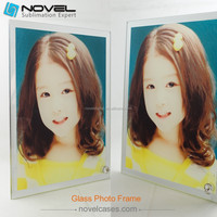 "8"" Sublimation Top and Bottom Mirror Frame"