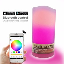 new products japan,bluetooth wireless led light with remote wax balls candle