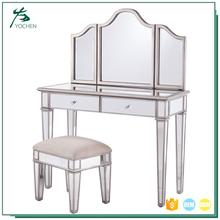shabby chic dressing table antique console table with mirror
