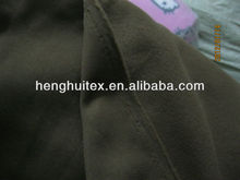 Asia,Middle East market one side brushed police/military fleece fabric