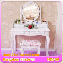 Elegant Wooden Dressing Table with Drawer Model Wrought Iron Dressing Table 2016