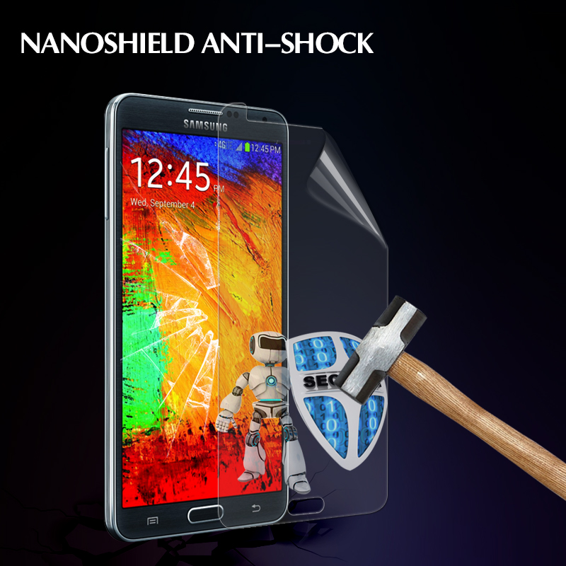 Cell phone anti shock screen protector for Samsung galaxy S4