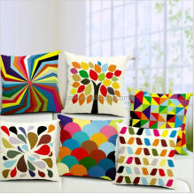 latest design high quality custom printing cushion cover