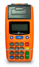 Retail low price Handheld Bus Ticketing POS Machine , POS Machine with Contactless Card reader, voucher pos Machine