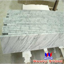 Bianco Carrara White marble door thresholds