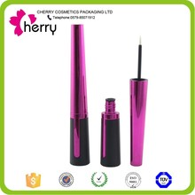 Hot selling Red clear eyeliner tube/ wholesale bottle for eyeliner/ cosmetic packaging