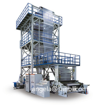 3 Layer Co-extrusion Blowing Film Machine