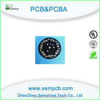 excellent circuit board with electronic parts, microwave oven pcb