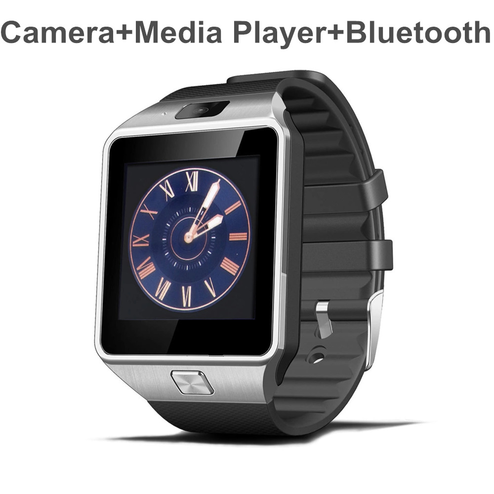 2017 New Smart Watch Dz09 With Camera Bluetooth Wristwatch Sim Card Smartwatch For Ios <strong>Android</strong> <strong>Phones</strong> Support Multi Languages