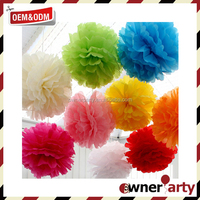 Top Sale Wedding Decoration High Quality Tissue Paper Flower Craft