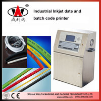 Desktop Batch and Serial Number coder Industrial inkjet coding printer with single color
