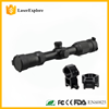 3-12X40AOQ Adjustable Objective Illuminated Mil-dot Reticle Riflescope with Picatinny Rings