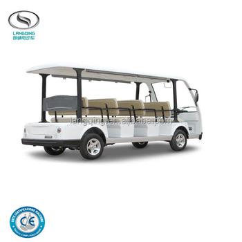 Electric mini sightseeing bus with 11 Seats forward car LQY113B
