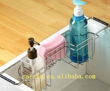 2016 China kitchen Rust-resistant stainless steel cabinet organizer sink dish rack