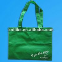 2012 fashion promotion bags non woven bags for supermarket