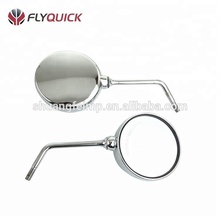 High quality chrome round rearview mirror for motorcycle mirror arm Suzuki GN125