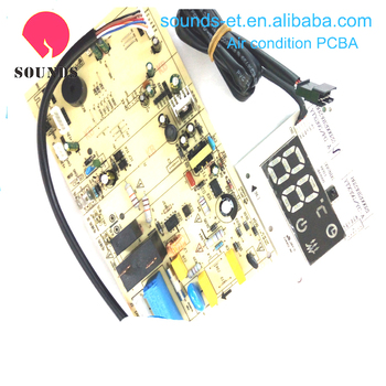 Rigid FR4 Circuit Board Assembly for air condition , OEM PCBA Assembly Manufacturing
