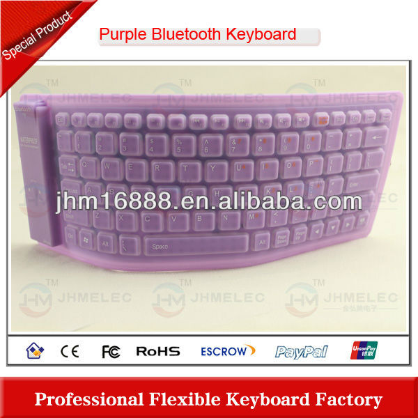 silicon bluetooth wireless keyboard case for iphone 5