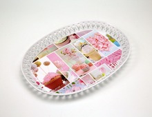 Promotion plastic loaf of bread bread tray,food tray