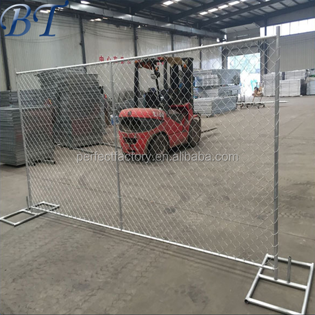 Hot sale chain link temporary fence / USA standrad chain link temporary fence panels sale