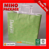 2013 best seller recycle brown paper grocery bags/custom paper carrier bags/silk screen craft paper bag