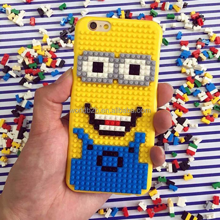 DIY Building Blocks Bricks Phone Case for iPhone 7