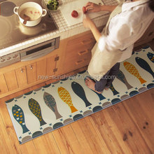 high quality contracted fashion comfortable household /kitchen floor PVC anti-skid mats