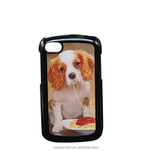 Alibaba china supplier best selling plastic cellphone case for sublimation for Blackberry Q10
