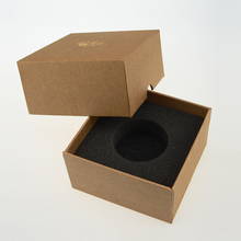 Best-seller brown mini engagement paper gift box packaging box jewelry paper box