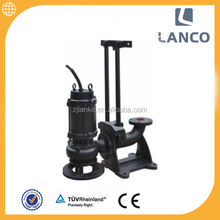 QW vertical centrifugal deep well 3 phase 1hp submersible pump