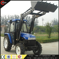 55HP Garden front end loader mini tractor price
