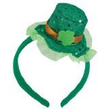 St. Patrick's Day 100th china supplier head bopper party flashing head boppers