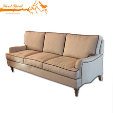 Antique Classic Style Home Living Room Furniture Luxury Fabric Upholstery Wood Frame Sofa Set, Couch Living Room Sofa, Couch