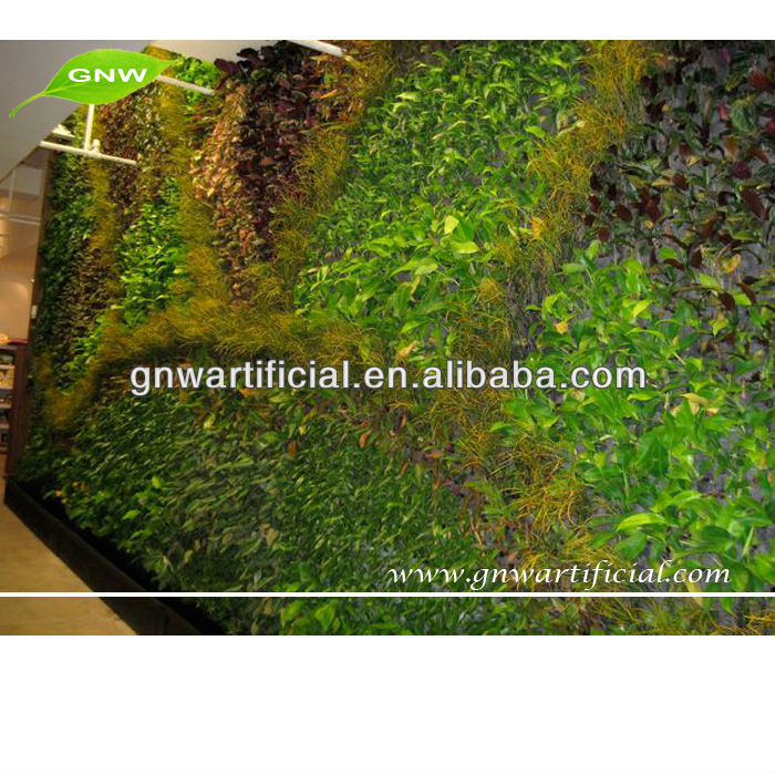 GNW GLW001 Artificial cheap Green Wall diy vertical garden for home decoration