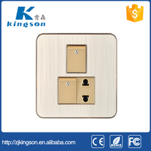 the lastest design and Pakistan 2+1 switch power socket ,2+2 sockets and switches/wireless switch