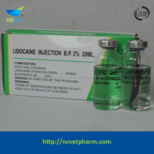 Lidocain hydrochloride injection 2%
