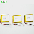 3.7v lithium ion polymer battery 604560 2000mah li-ion battery for GPS devices
