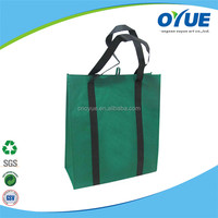 New Style Promotional recyclable non woven grocery tote bag