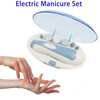 Super September Purchasing Manicure Pedicure Set, Professional Nail Care System Device