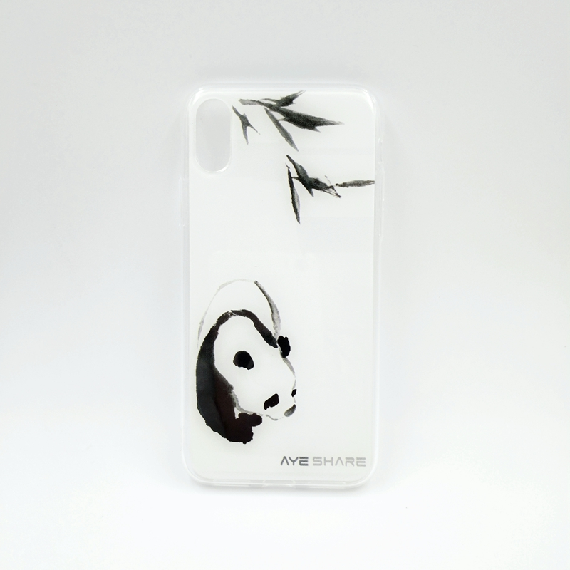 Shenzhen Yuan Meng 5 inch mobile phone back cover panda for iphone X